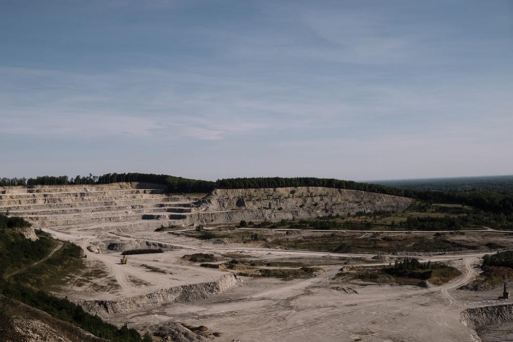 Steinbruch Tagebau im Teutoburger Wald - Wildes Ostwestfalen